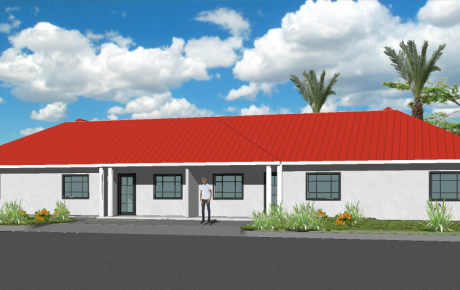 10 - Duplex - 3 Bedroom - 100m2+ Perspective