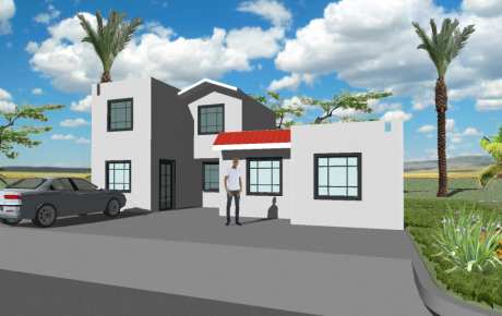 18 - Duplex - 2 Bedroom - 50m2 Perspective