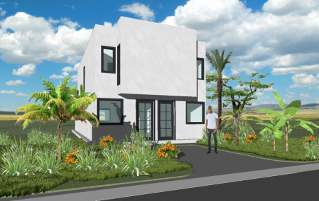 23 - Duplex - 2 Bedroom - 80m2 Perspective