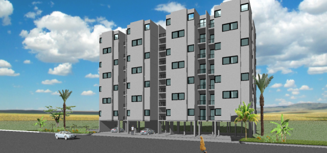 35 - Multi-Family - 2 Bedroom - 43m2 Perspective